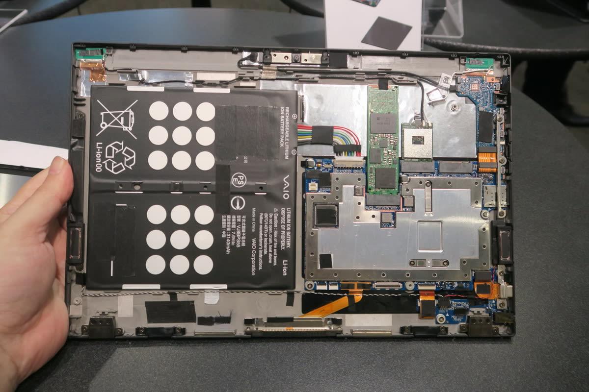 VAIO A12 展示機