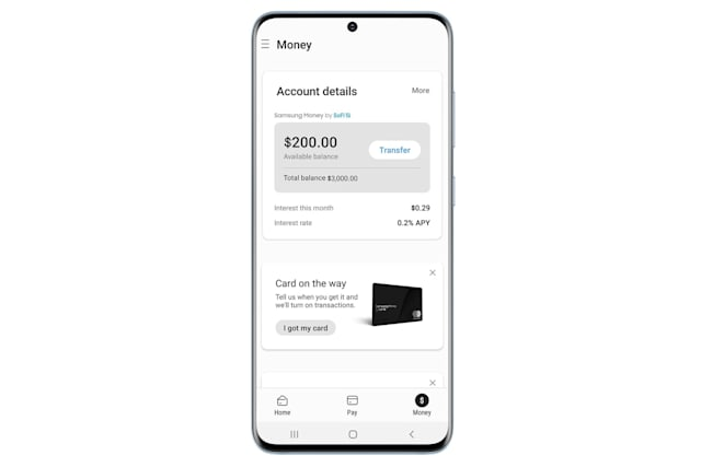 Samsung Money in Samsung Pay