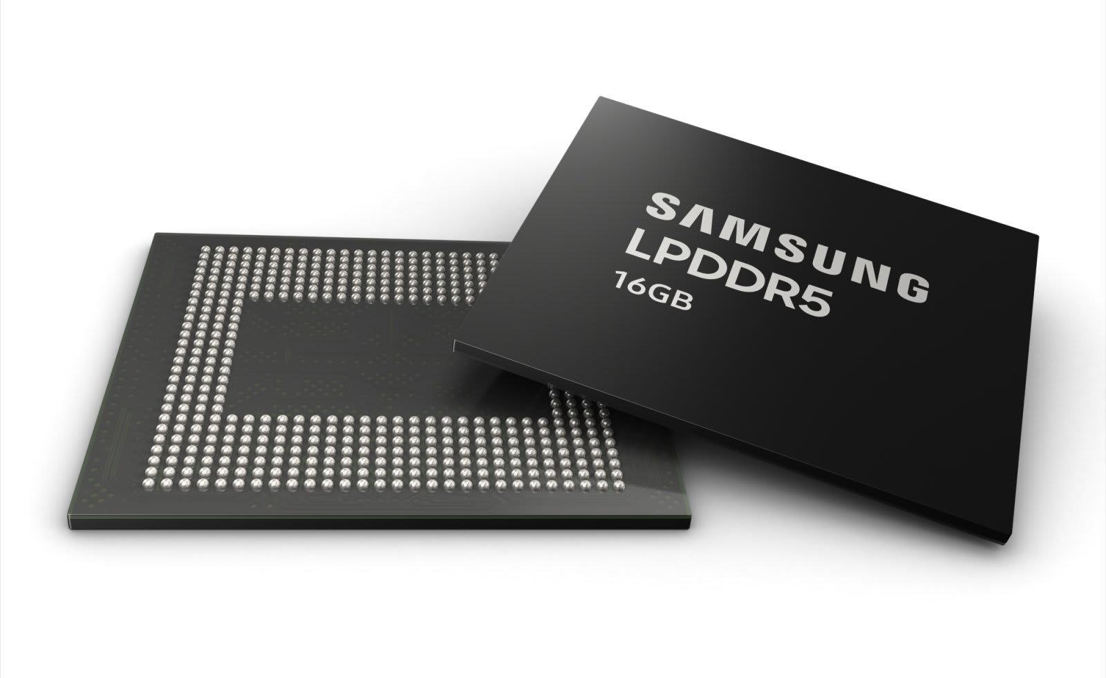 Samsung 16GB LPDDR5