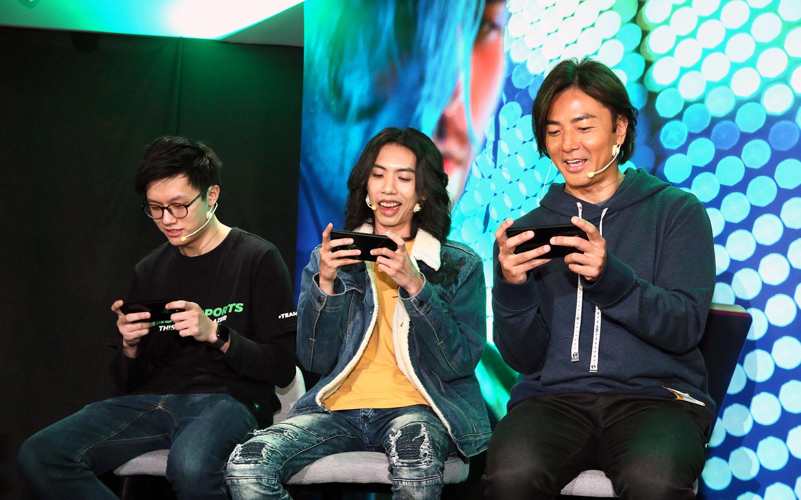 Razer Phone 2 香港發佈會:達哥、鄭伊健