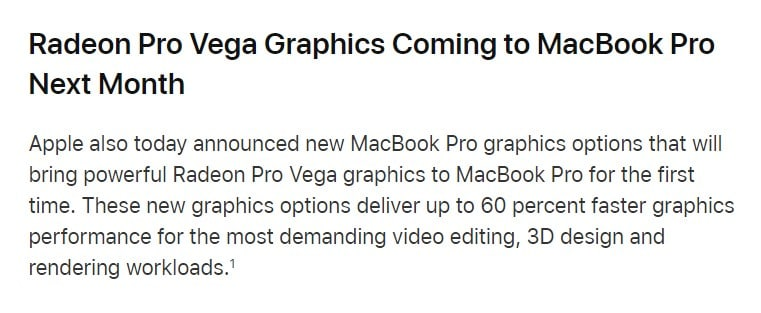 Apple MBP2018 Preview
