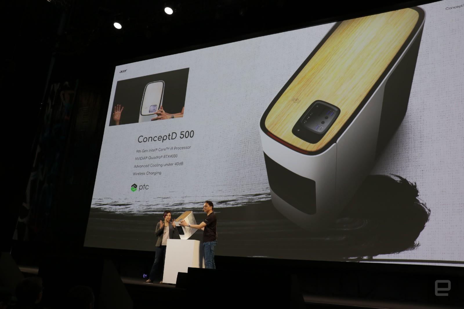Acer ConceptD 500 desktop