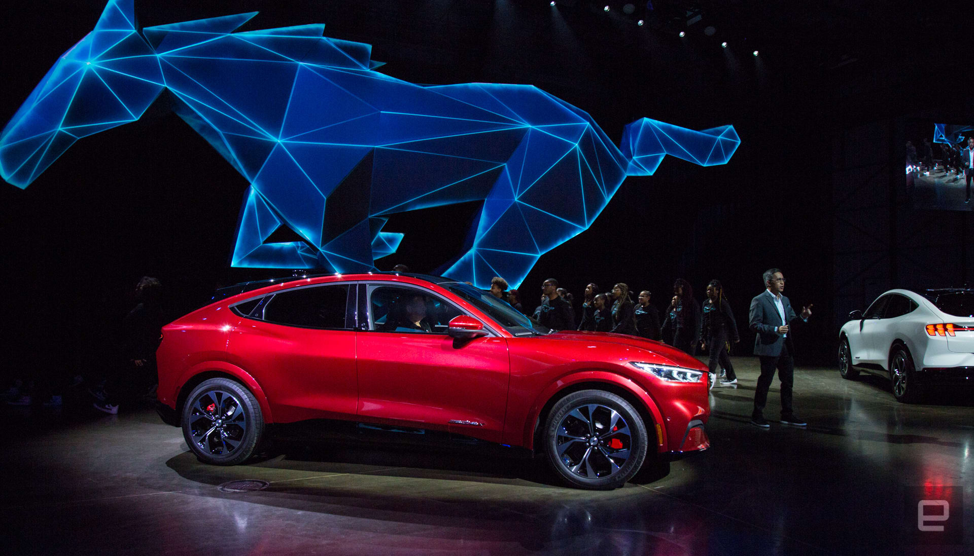 Ford Mustang Mach-E unveil