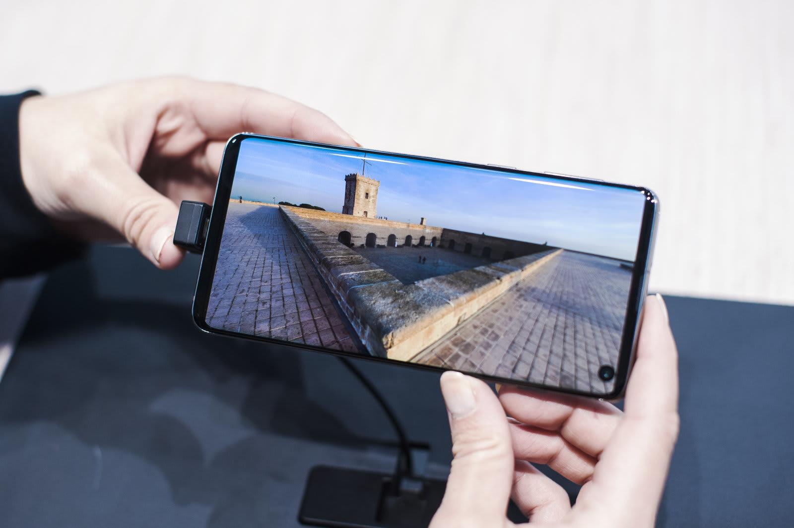 Samsung Full Screen Smartphone
