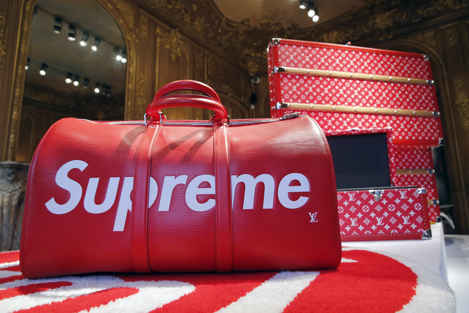 """The Rise Of Supreme : 30 Years Of US Urban Culture"" : Press Preview At Artcurial In Paris"