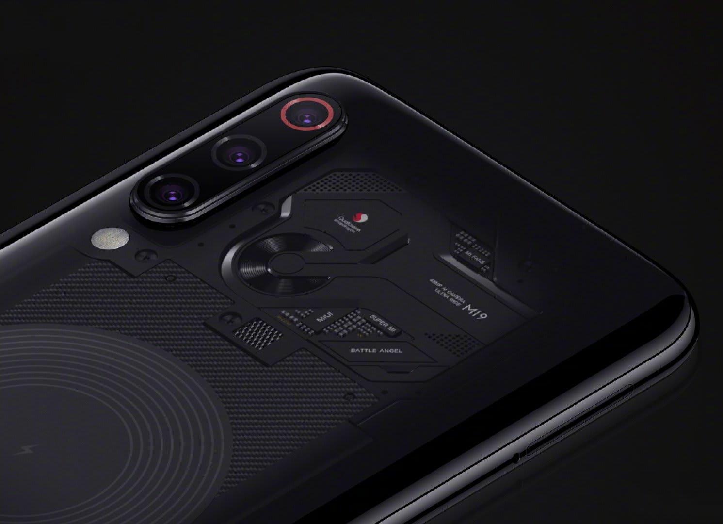 Xiaomi Mi9 Transparent