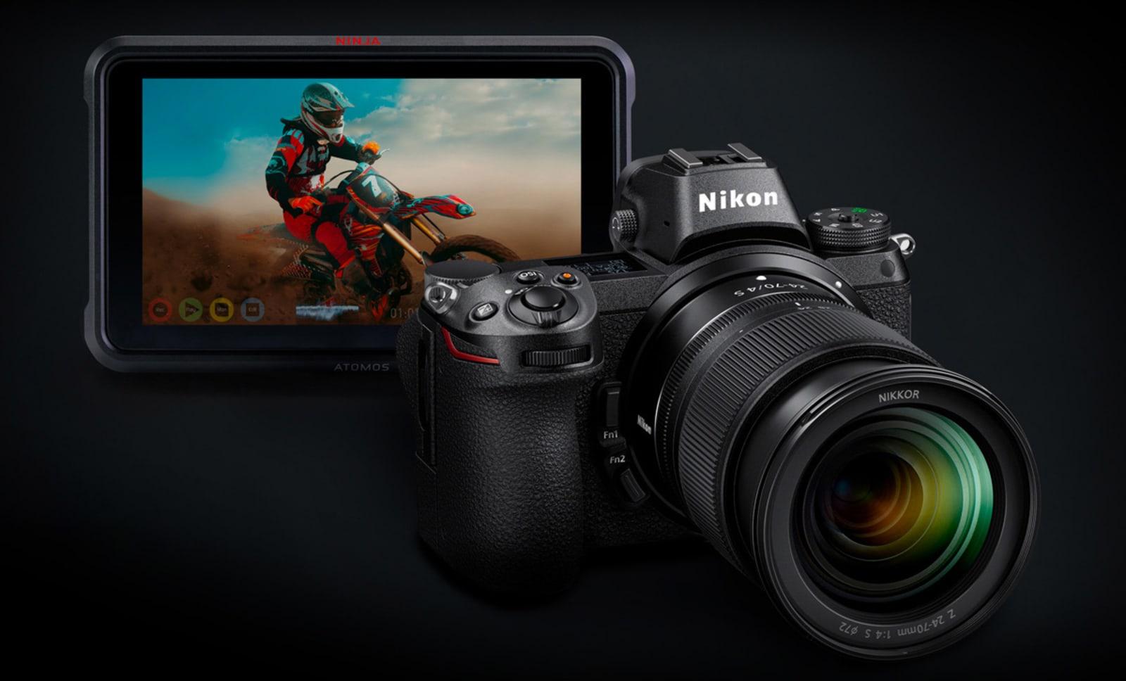 Nikon Atomos ProRes RAW video