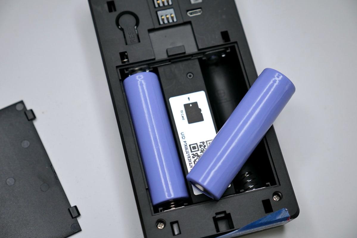 18650充電式バッテリー