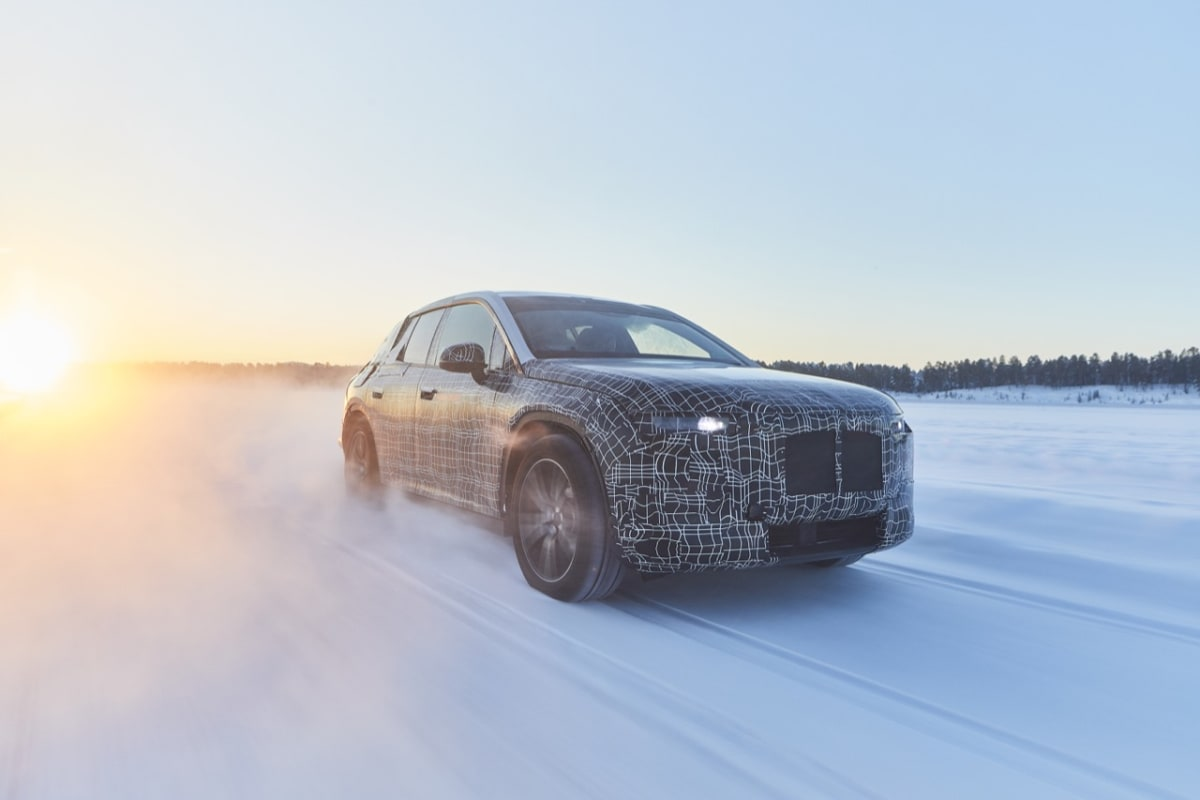 BMW iNEXT undergoes winter trial tests
