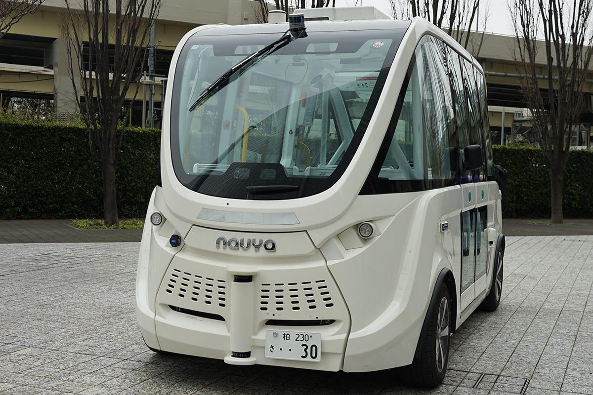 SB 自動運転バス