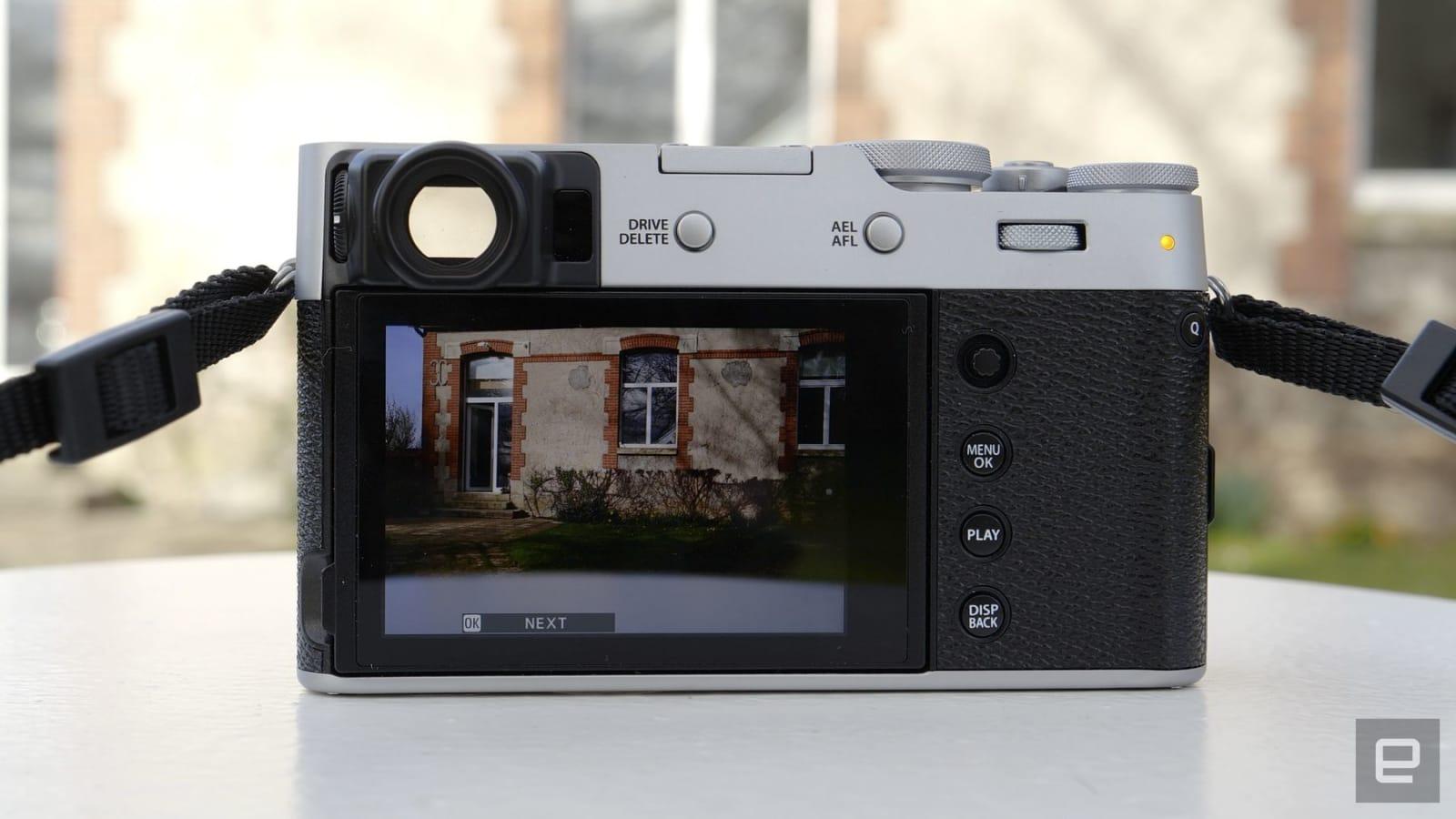 Fujifilm X100V compact aps-c camera