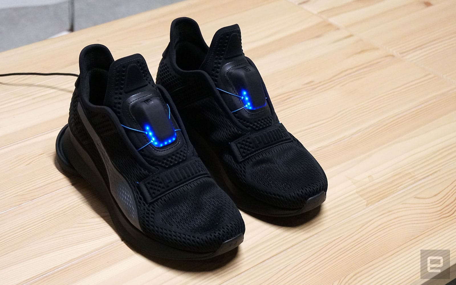 Puma Fi self-lacing shoes