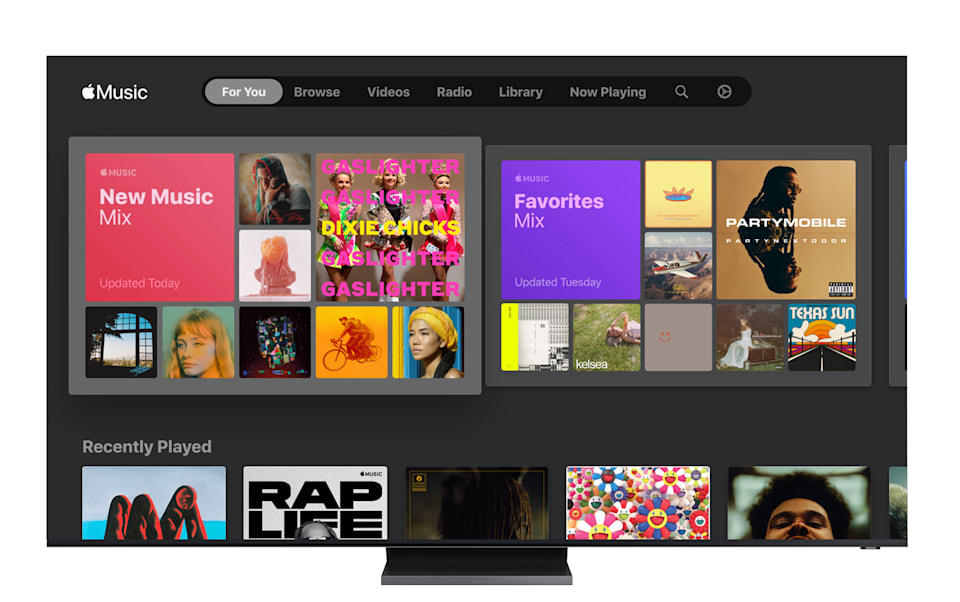 Apple Music on Samsung Smart TV