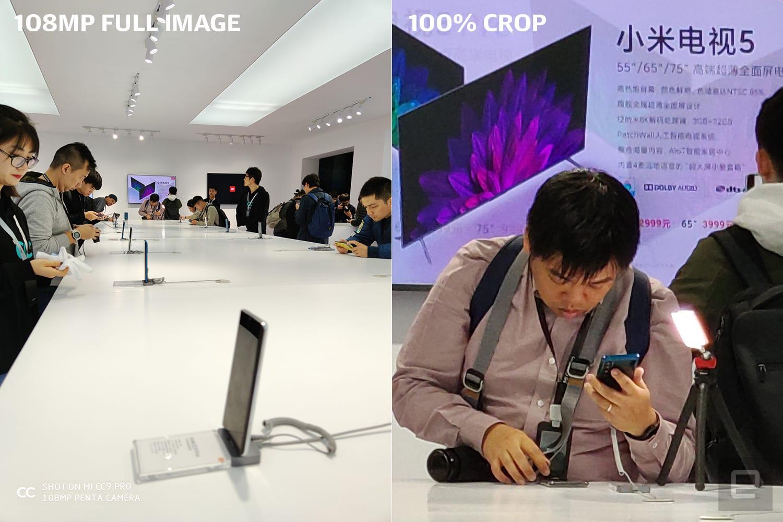 Xiaomi CC9 Pro smartphone 108-megapixel sensor