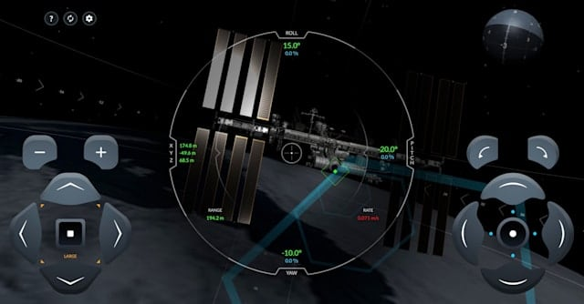 SpaceX-ISS Docking Simulator