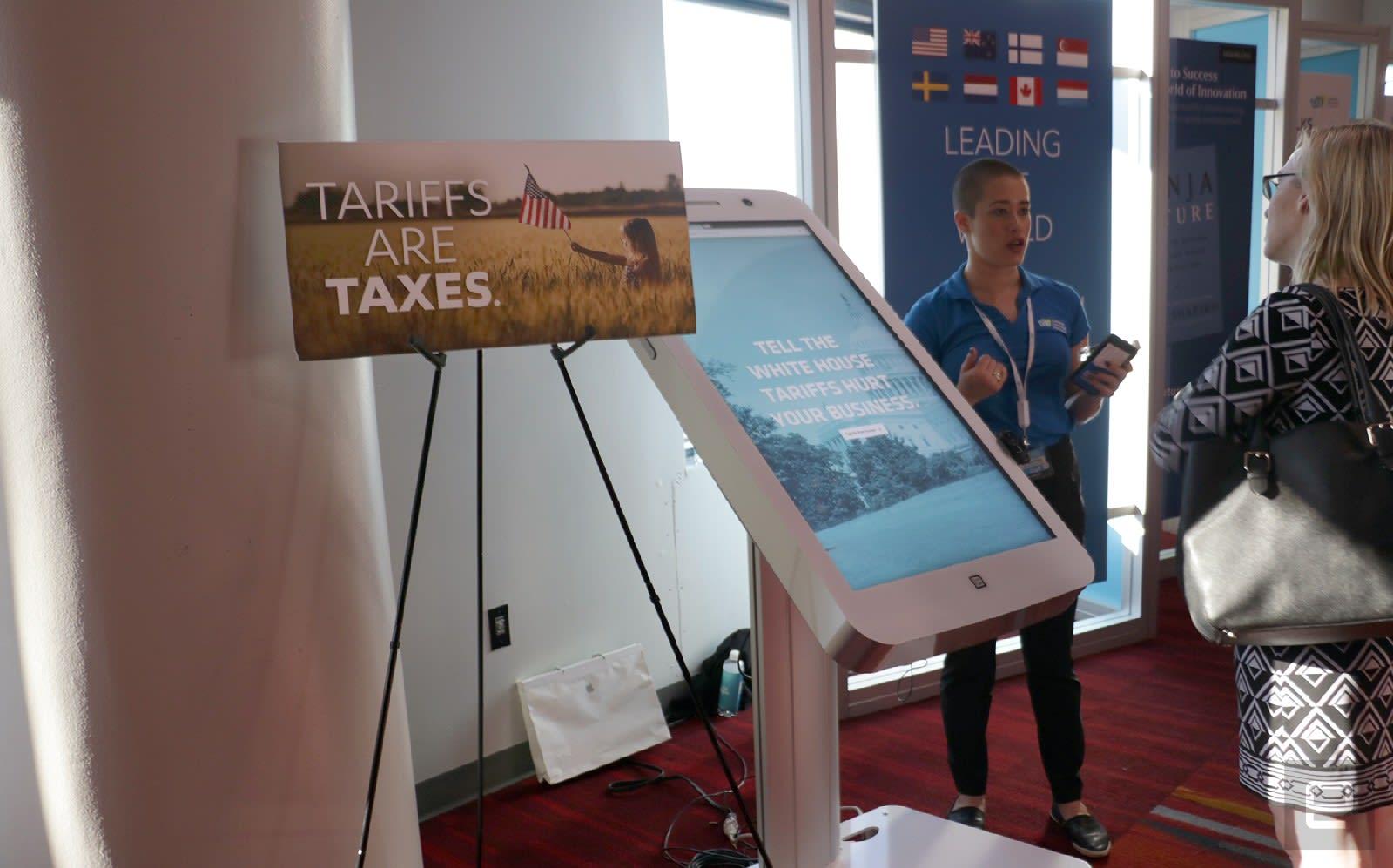 Tariffs at CES 2019