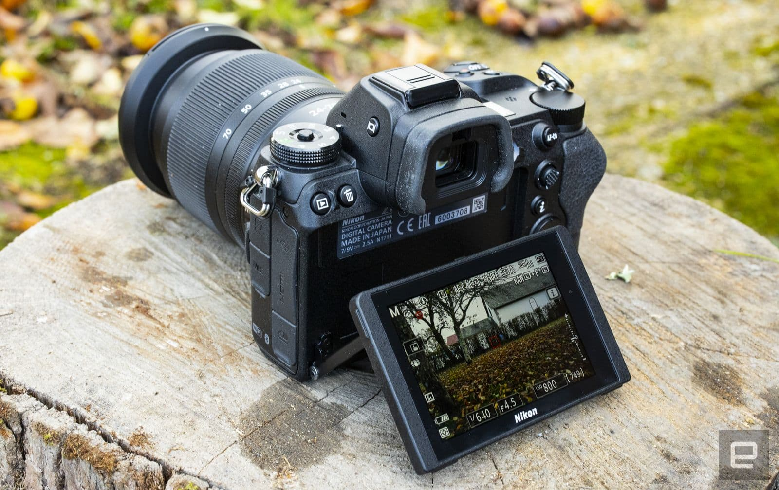 Nikon Z6 full-frame mirrorless camera