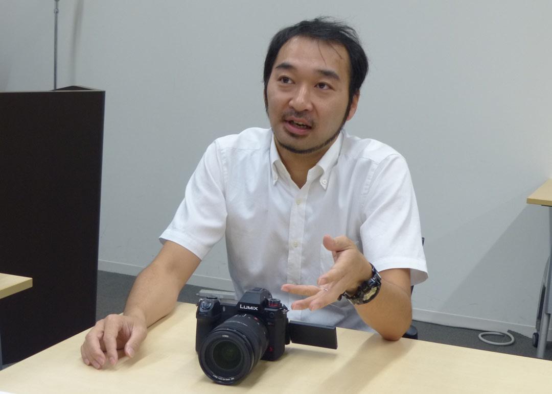 Panasonic LUMIX S1H Interview