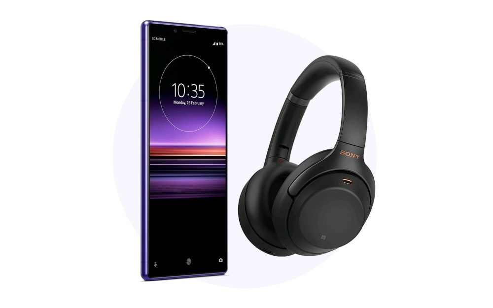 Xperia 1 and WH-1000XM3