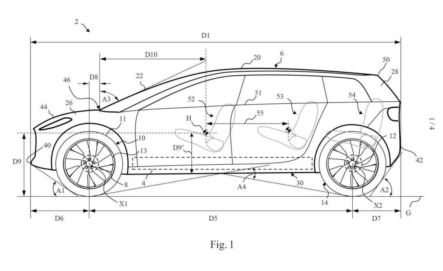 Dyson electric car patent