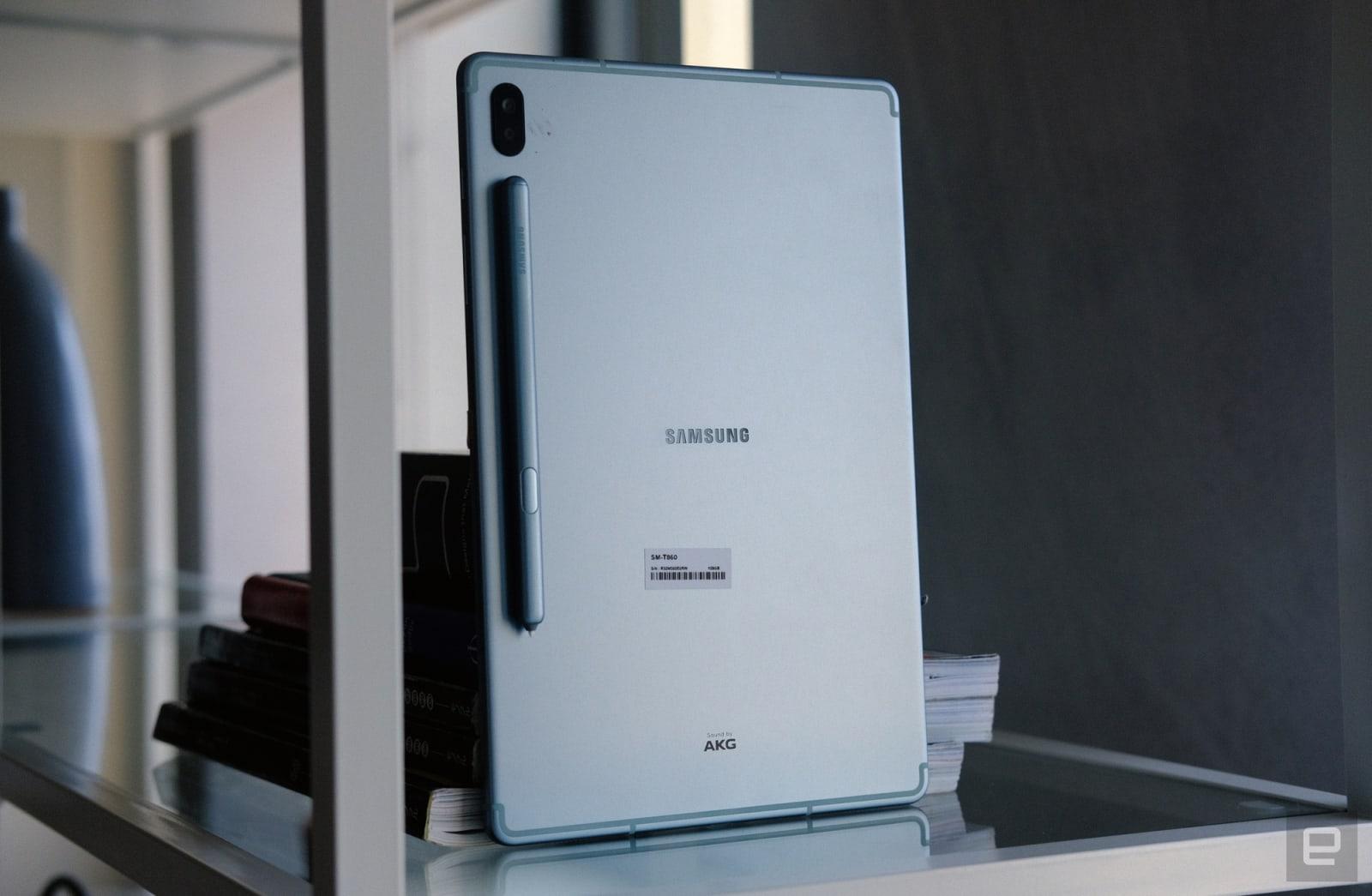Samsung Galaxy Tab S6 hands-on