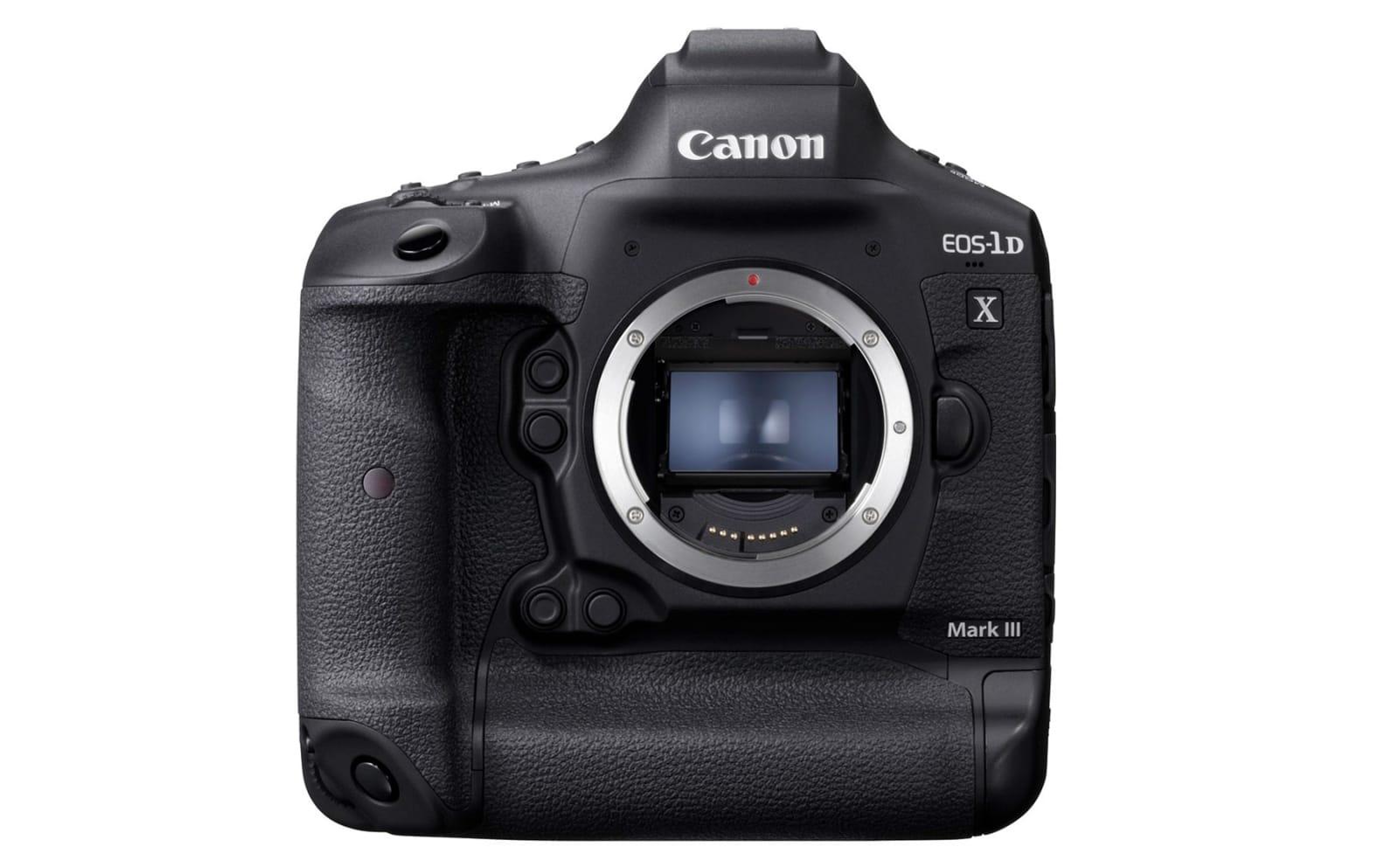 Canon EOS-1D X Mark III full-frame DSLR development
