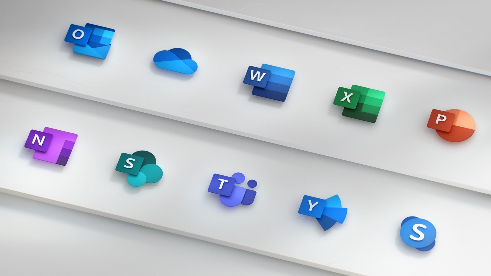 Microsoft Office icon redesign