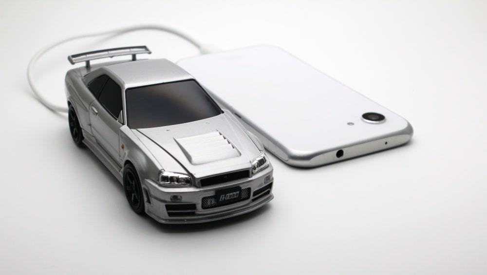 Nissan GT-R34 Mobile Battery