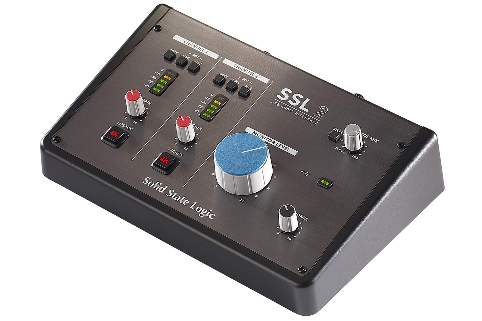 Solid State Logic SSL 2 audio interface