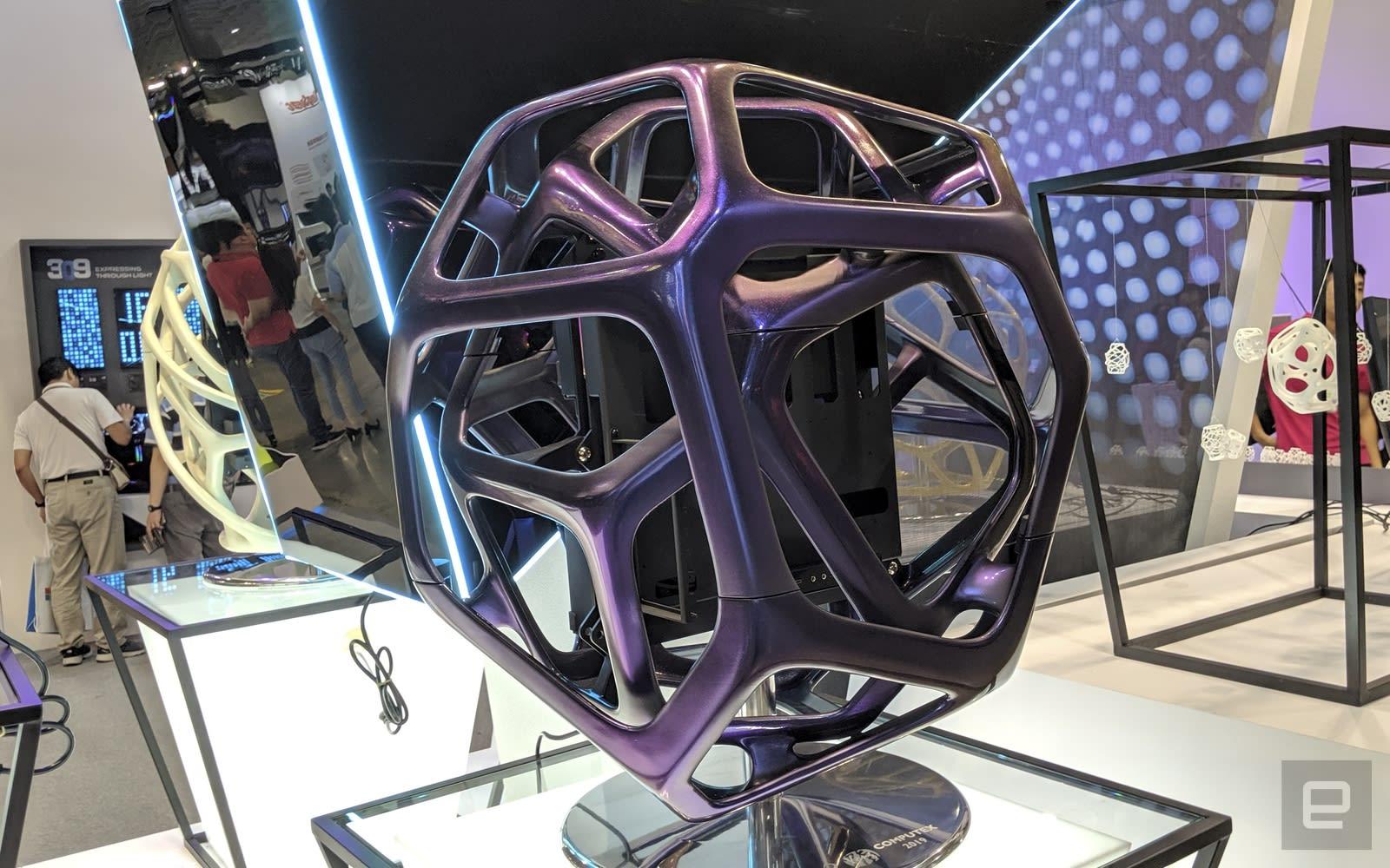 In Win 机箱 Computex 2019