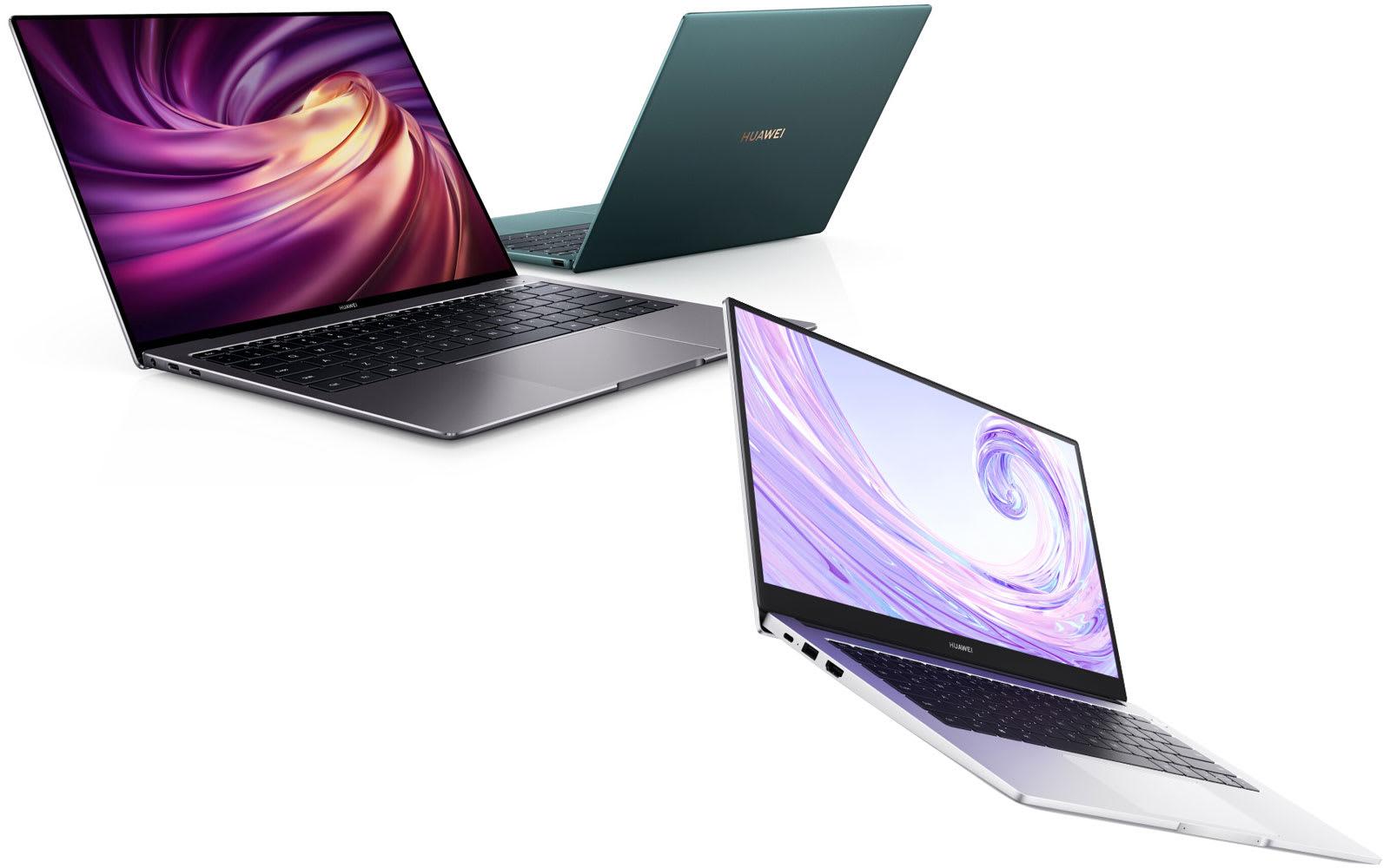 Huawei MateBook X Pro and MateBook D