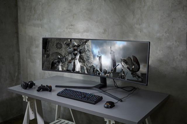 Samsung gameing monitor