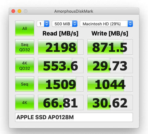 Mac mini disk