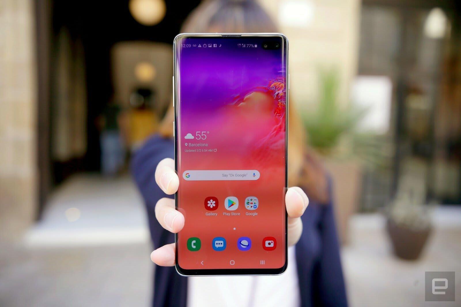 Samsung Galaxy S10 599