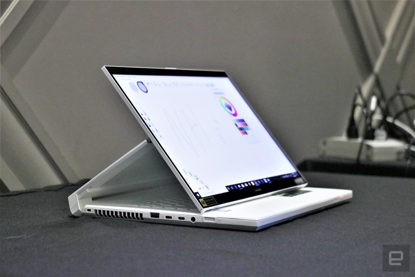 Acer ConceptD 7 Ezel Pro hands-on