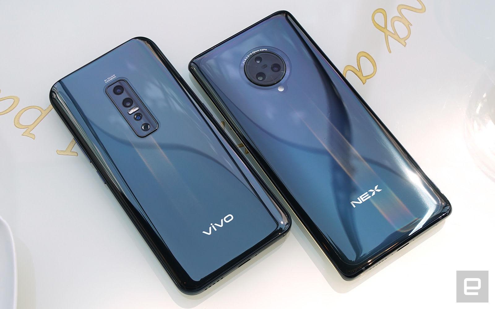 Vivo V17Pro 和 NEX 3 5G