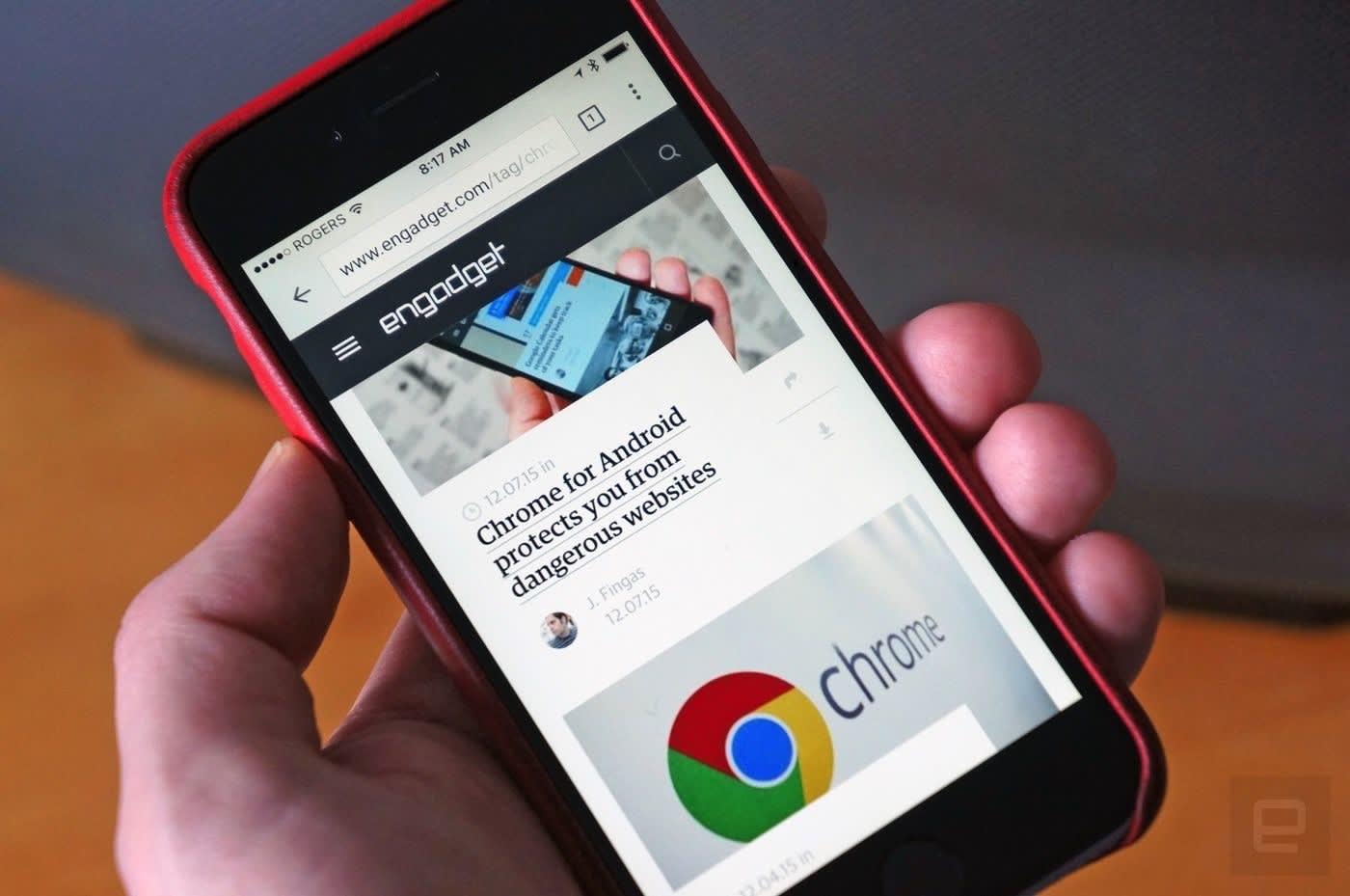 Android Chrome Dark mode