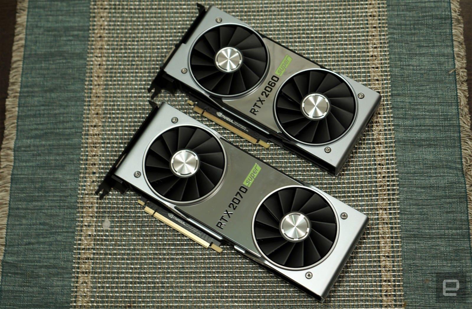 NVIDIA RTX 2060 Super and 2070 Super