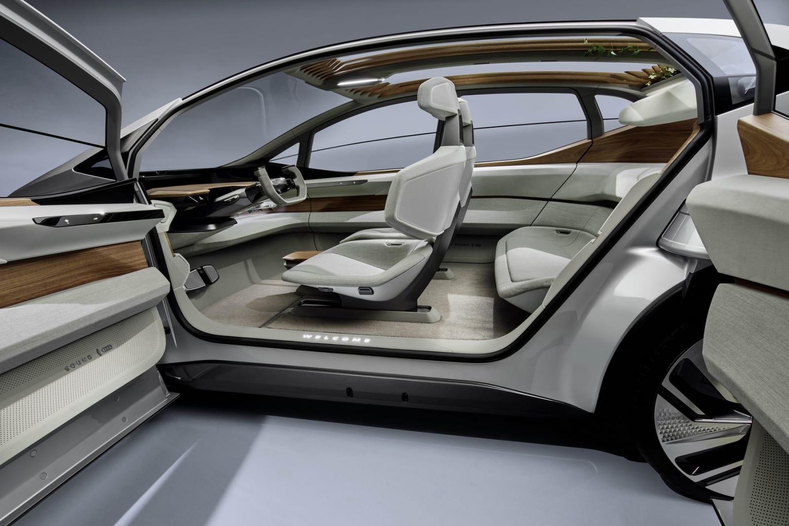 Audi AI:ME self-driving urban EV concept