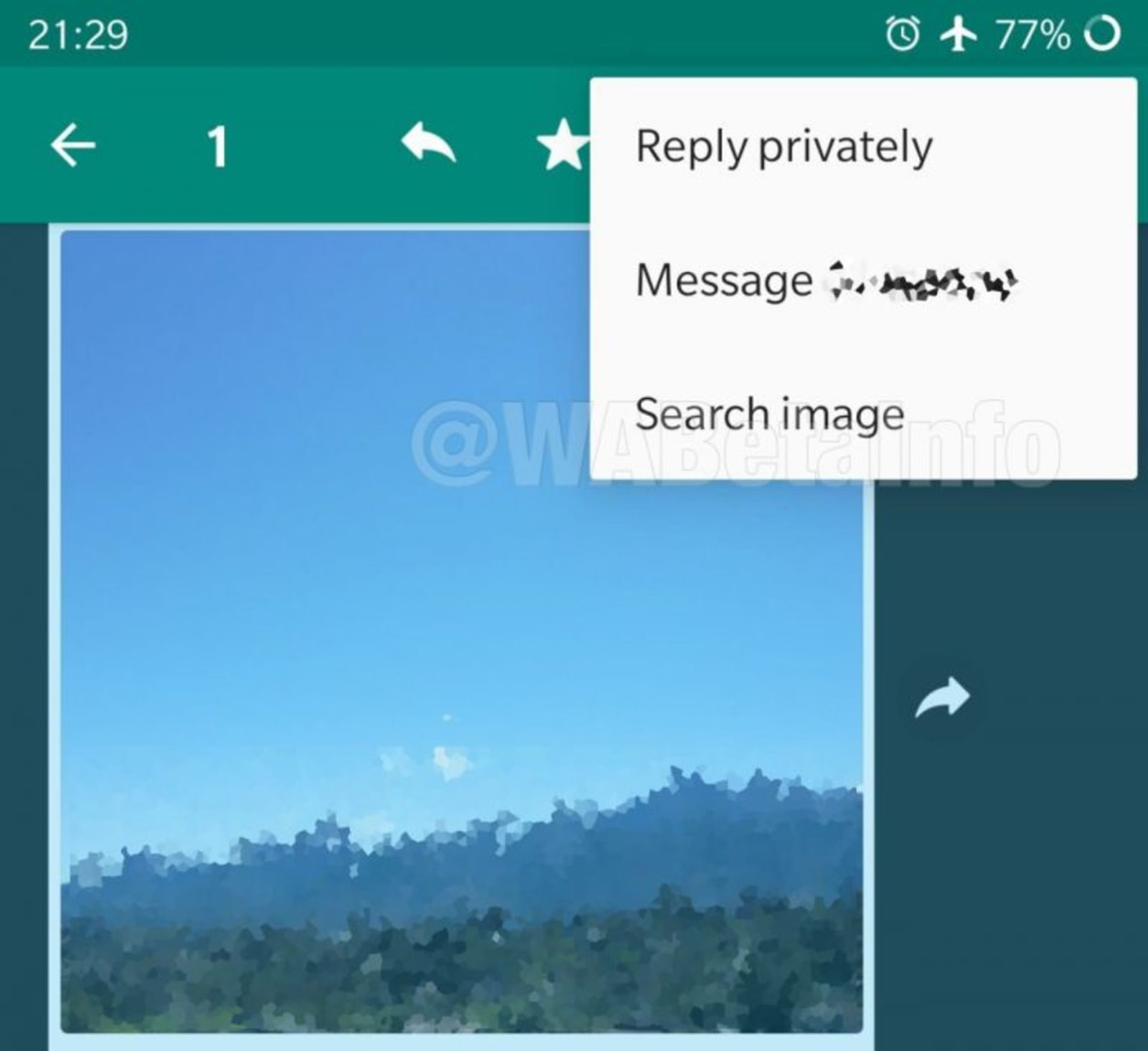 WhatsApp image search