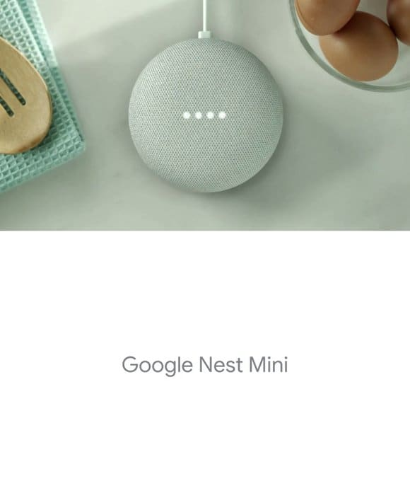 Nest Mini ad leak