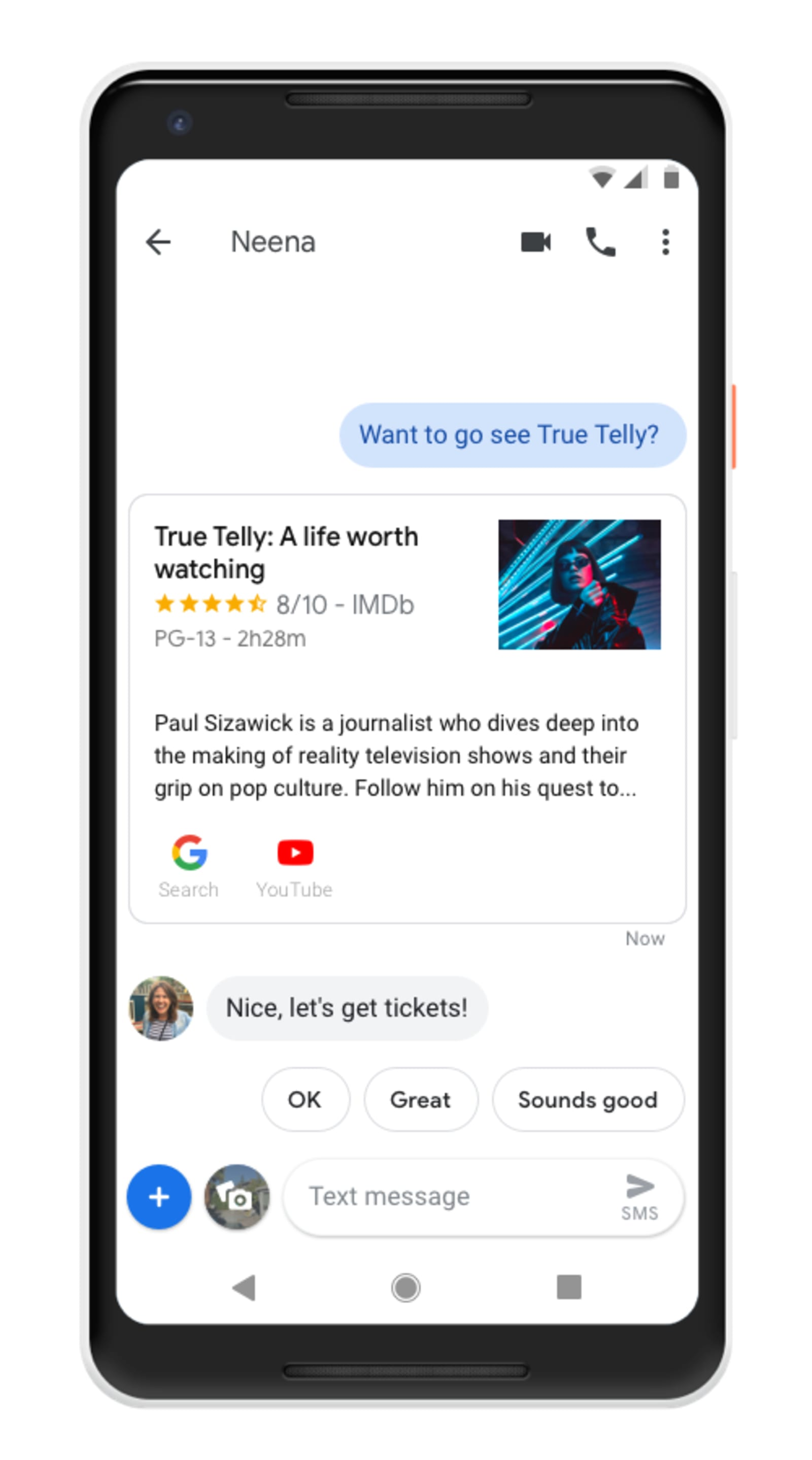 Google Assistant Android Messages