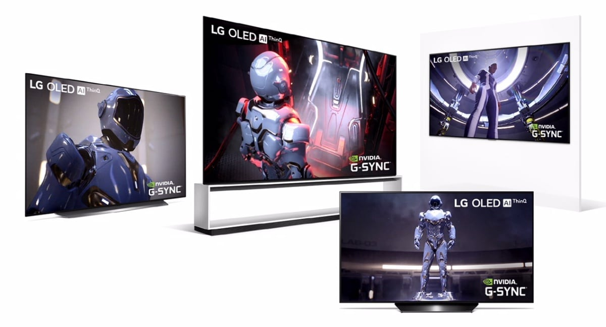 LG G-Sync OLED
