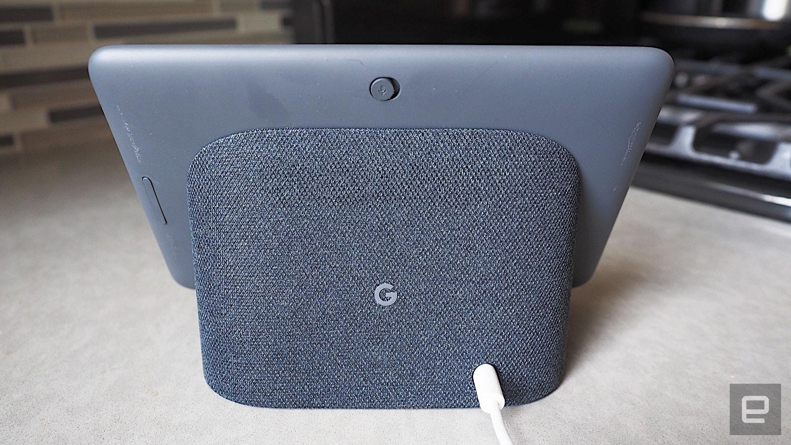 Google Home Hub rear