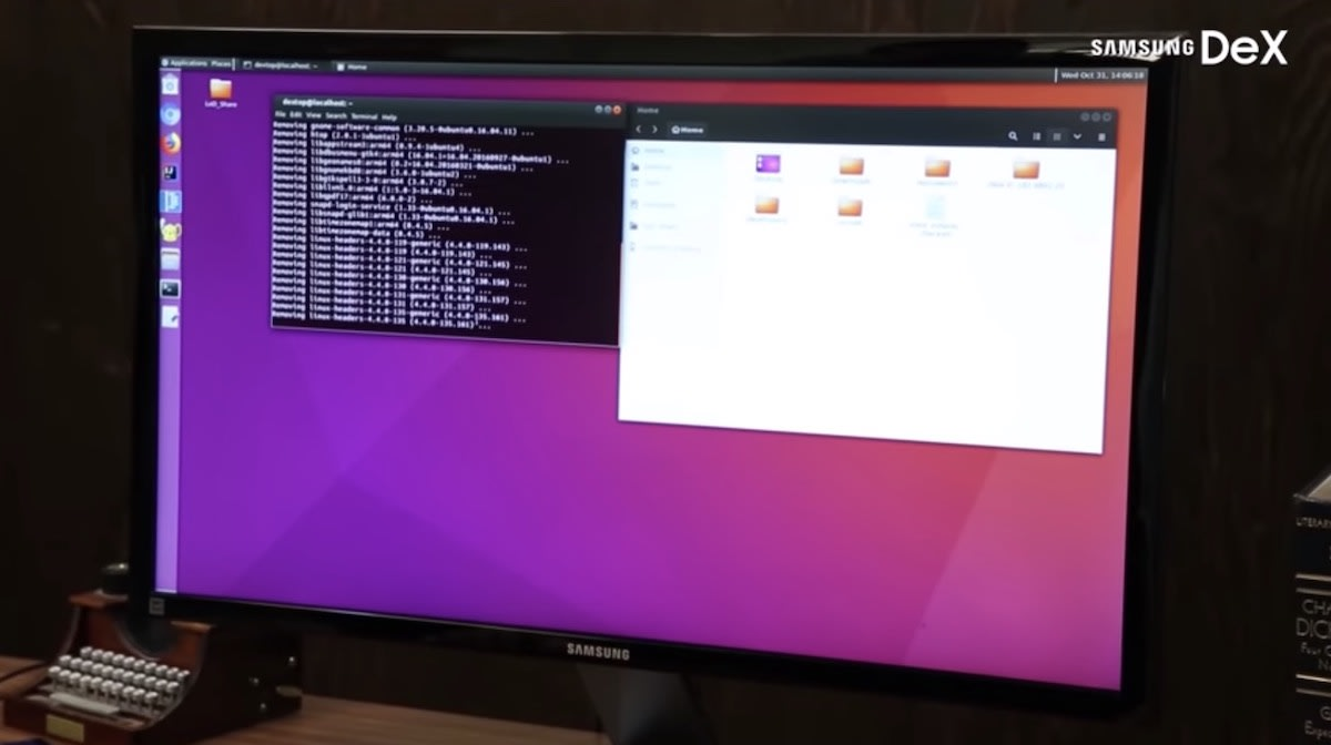 Linux on Dex