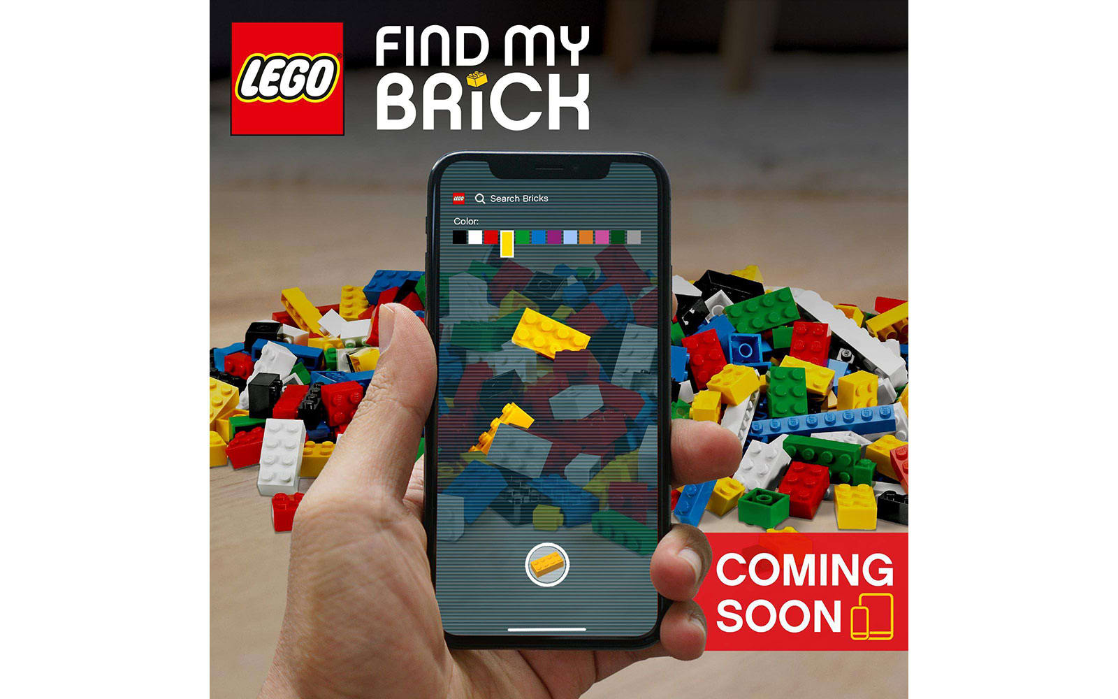 "Lego ""Find My Brick"""