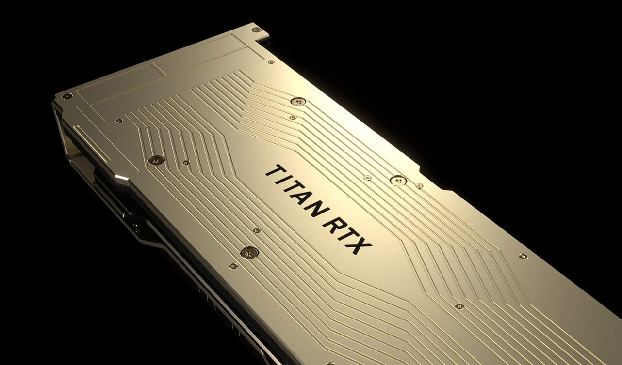 NVIDIA Titan RTX graphics cards