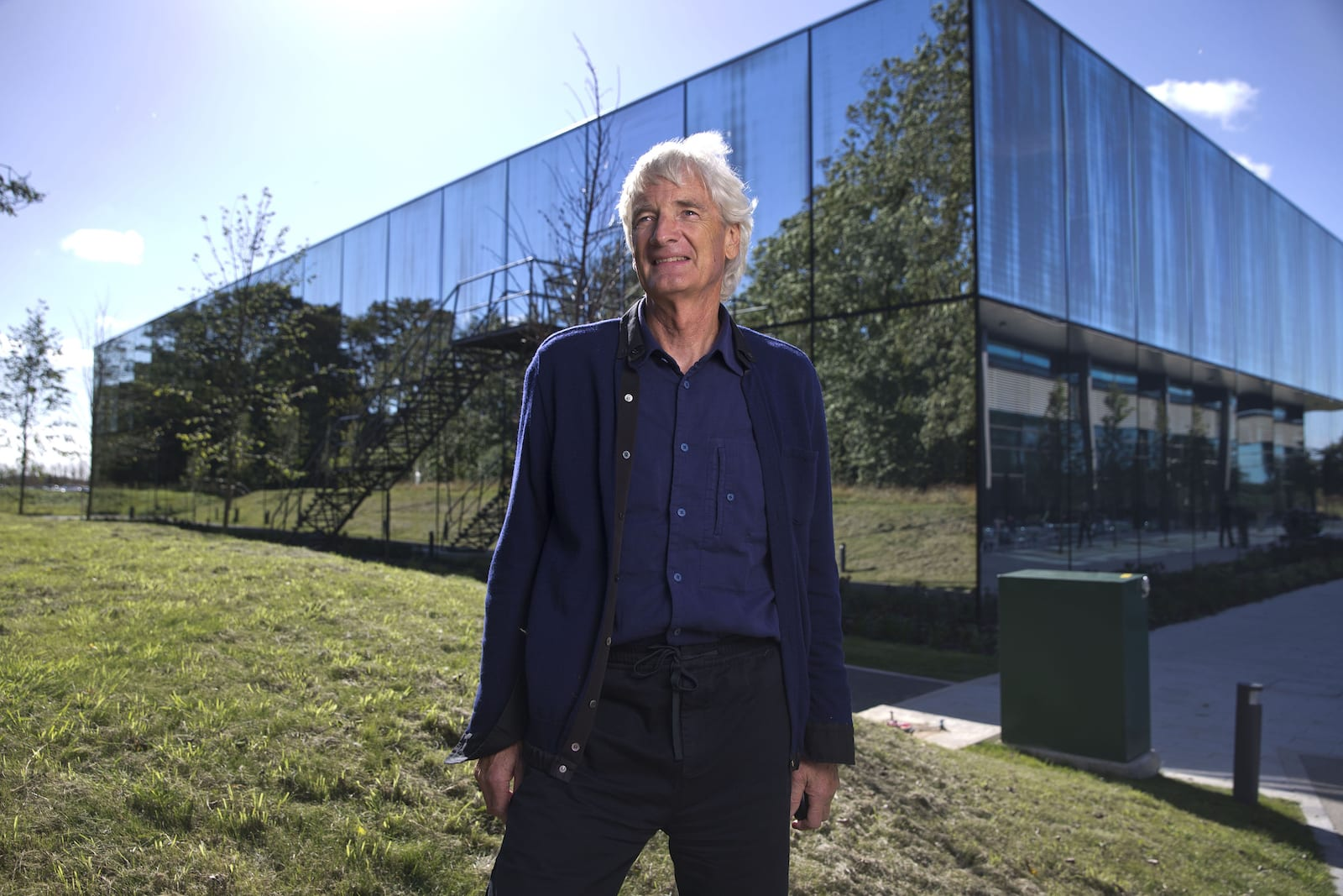 Sir James Dyson photographed at the Dyson HQ in Malmesbury, Wiltshire.Malmesbury 8 September 2016Licensed to Dyson Ltd for Internal and Press use including sharing with external publications for their print and online editions .