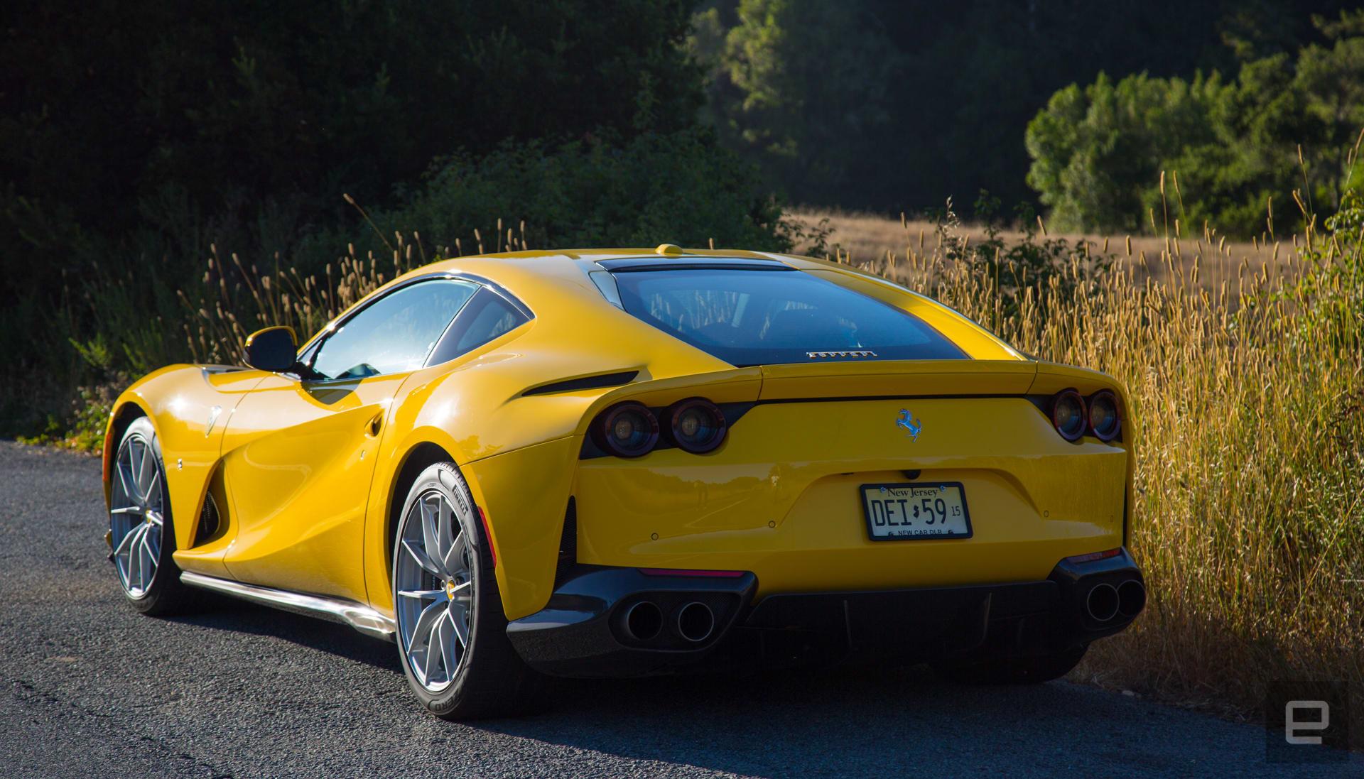 Ferrari 812 Superfast review
