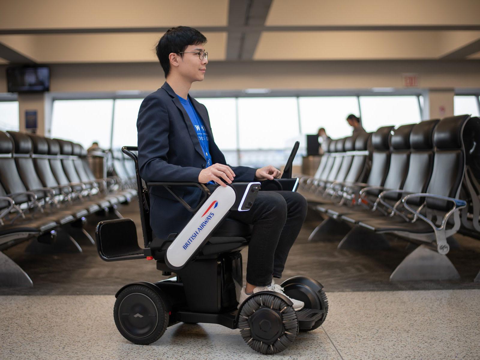 British Airways Whill Wheelchair